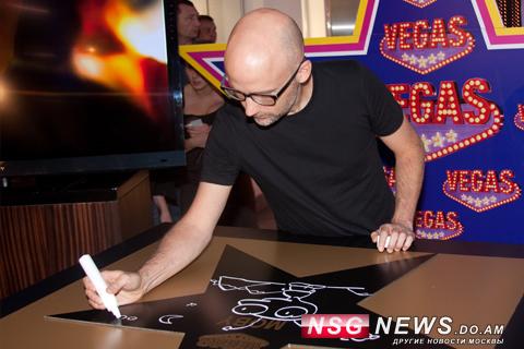 Moby в Вегас, Именная звезда Моби, Моби в Москве, 2011, NSG News