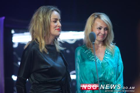 Шэрон Стоун блистала на премии МУЗ-ТВ