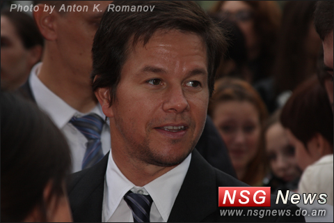 Mark Wahlberg in Moscow, Марк Уолберг
