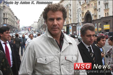 Will Ferrell in Moscow, Уилл Феррелл